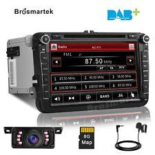 8'' 2Din Car Stereo for VW Golf Passat Skoda Tiguan Seat DVD Radio GPS SatNAV BT