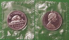 1965 Canada Small Beads Nickel Sealed in Cellophane