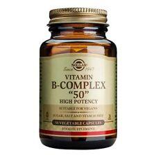 Solgar Vitamin B-Complex 50 | High Potency, Food Supplement - 50 Vegetable Caps