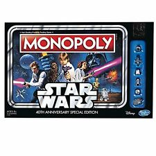 Monopoly Game: Star Wars 40th Anniversary Special Edition New