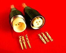 Amphenol 3/5 polige Groß-Tuchel Kabel Leitungen & Stecker Pro-Audio Equipment