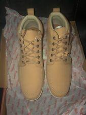 BNIB Mens Tan Boots Kickers Size 12 Cost £115 New