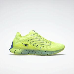 Reebok Chromat Zig Kinetica Men's Sneakers Shoes Yellow / Acid Blue US Size 10