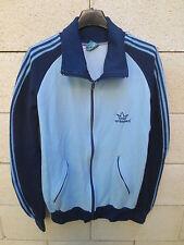 VINTAGE Veste sport ARKAPEN Madrid bleu années 80 jacket chaqueta espana  L / XL