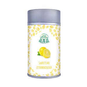 SweetCare Zuckerstreuer Zitrone, mit Erythritol/Erythrit, Stevia und Zitrone