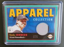 Randy Johnson U.D. Play Ball Apparel Collection Card #AC-RJ Arizona Diamondbacks