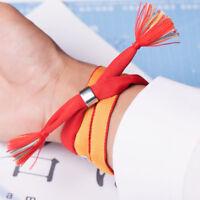 Mode Film Your Name Rote Hand Seil Armband Haar Seil Schmuck Geschenke