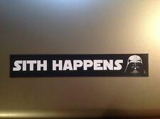 Star Wars 'Sith sucede'S Parachoques Pegatina Calcomanía