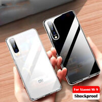 For Xiaomi Mi 9 9T 8 Lite A3 Shockproof Slim Soft Silicone Clear TPU Case Cover