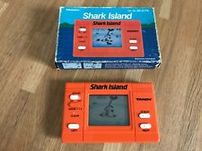 Rare Boxed Tandy Shark Island 1984 LCD HandHeld Electronic Game - Mint Condition