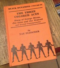 BLACK DYNAMITE Vol III Boxing History NAT FLEISCHER 1938 Free US Shipping RARE