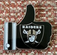 "OAKLAND RAIDERS ""LIKE"" Thumbs Up Lapel PIN"