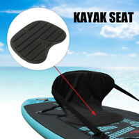 Black Comfortable Soft Padded Seat Cushion For Kayak Canoe Fishing Drift Boat W