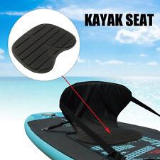 Black Comfortable Soft Padded Seat Cushion For Kayak Canoe Fishing Drift Boat