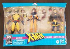 Hasbro X-Men Jean Grey, Cyclops, and Wolverine Marvel Legends figure box set