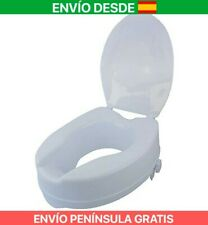 Mobiclinic, Elevador WC, Con tapa, 10 cm, Blanco, Titan