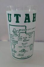 MT 1950s - 60s Cheesy Utah Tourist Trap Glass