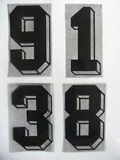 Flock Nummer number número Trikot jersey shirt Deutschland Germany 1984 - 1990