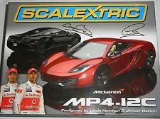 Scalextric - C3171A Mclaren MP4-12C Twinpack Lewis Hamilton Jenson Button - NEW