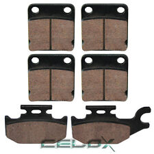 NEW FRONT BRAKE PAD SET 2005-2006 YAMAHA YFM450FA KODIAK 450 YFM450 4WD 05 06