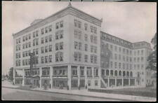 ATLANTIC CITY NJ Hotel Boscobel Vintage B&W Postcard