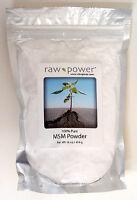 MSM Powder, Premium, 100% pure (16 oz, made in the USA), Raw Power brand