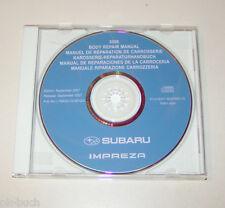 Werkstatthandbuch auf CD Karosseriereparatur Subaru Impreza - Modelljahr 2008!