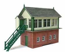 Metcalfe 00 PO233 Signal Box,  ** ready made **. Optional lighting