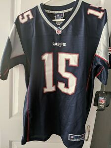 Youth XL Chris Hogan #15 New England Patriots NFL Team Color Game Jersey