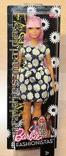 Barbie Fashionistas Glam Party Gänseblümchenkleid Curvy DVX70 NEU/OVP Puppe