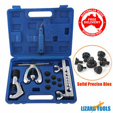 Tianci HBT0217 Pro 7 Dies Double Flaring Tube Pipe Flare Tool Kit