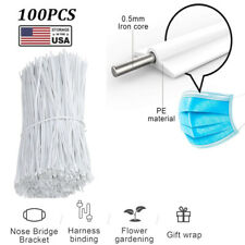 100PCS Plastic Nose Wire Nose Bridge Strips Bendable For Mask Sewing Accessories