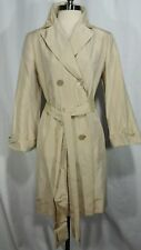 SILK COLE HAAN WOMAN'S TRENCH COAT size 4 NEW