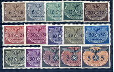 GENERAL GOVERNMENT 1940 Official set of 15 MNH / **.