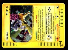 POKEMON SKYRIDGE HOLO (ENGLISH CARD) CARTE N° H26/H32 RAIKOU