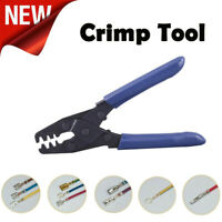 1PC Crimp Tool Wiring Crimping Crimper Open Barrel Kits 10-22AWG Plier for Cable