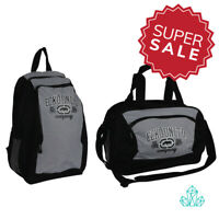 New ECKO UNLTD. Sport Bag & Backpack Set Black Grey Small Holdall Rucksack Gym