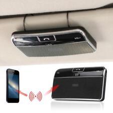 Wireless Bluetooth Handsfree Speaker Phone MP3 Car Kit Sun Visor Clip Drive RS <