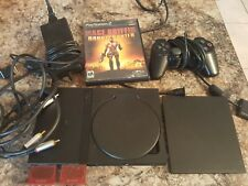Sony Playstation 2 PS2 Slim System Console With All Cables and Controller + Game