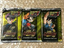 3x DBGT LOST EPISODES SAGA BOOSTER PACK DRAGON BALL GT SEALED NEW RARE LIMITED