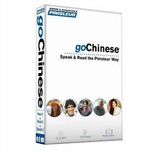 Pimsleur goChinese (Mandarin) Course - Level 1 Lessons 1-8 CD: Learn to Speak an