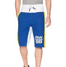 Rocawear Men's Cotton Knit Sweat Shorts, Royal Blue Size XL 37-40