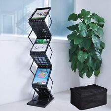 A4 Folding Literature Brochure Rack Exhibition Show Display Stand Holder New
