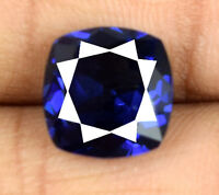Natural Blue Tanzanite Gemstone Cushion Cut 6-8 Carat VS Clarity AGSL Certified