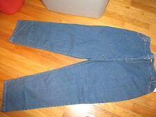 Women The TOG Shop Part Elastic Waist Jeans Tag Size 6 But see Measurement NWOT