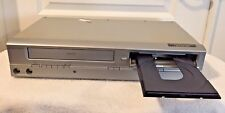 Emerson Ewd2004 Combo Dvd/ Vhs Vcr Player Tested & Works Great Condition