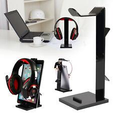 Acrylic Universal Earphone Headset Hanger DJ Headphone Stand Holder Desk Display