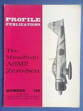 d'aéronefs PROFIL Publications no.129 - Le MITSUBISHI A6M2 ZERO-SEN - collection
