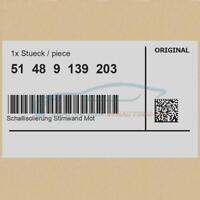 Original BMW 51489139203 - [SUPER PREIS] Schallisolierung Stirnwand Motorraum...