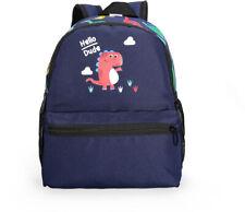 Dinosaur Cute Small School Bag Mini Backpack for Toddler Backpack Dark Blue